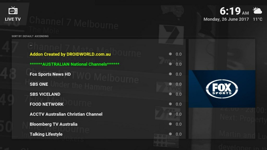 australian channels kodi supermax wizard kodi addons installer build