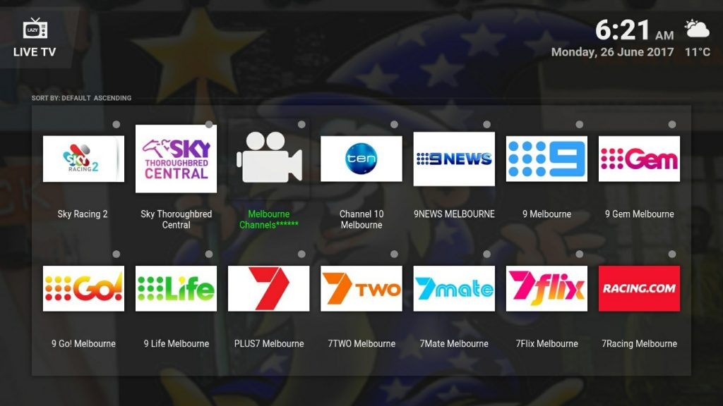 australian channels kodi supermax wizard kodi addons installer build