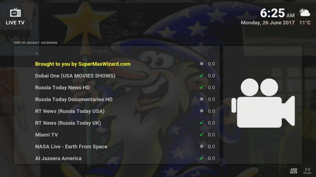 supermax wizard kodi addons installer build