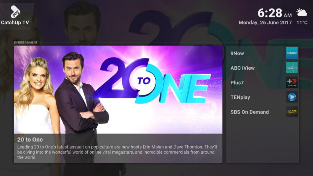 droidworld australian catch up tv stream box