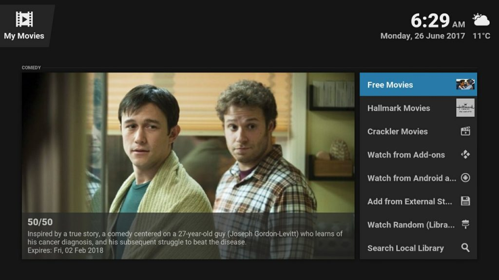 kodi movie addons free legal fully loaded australia