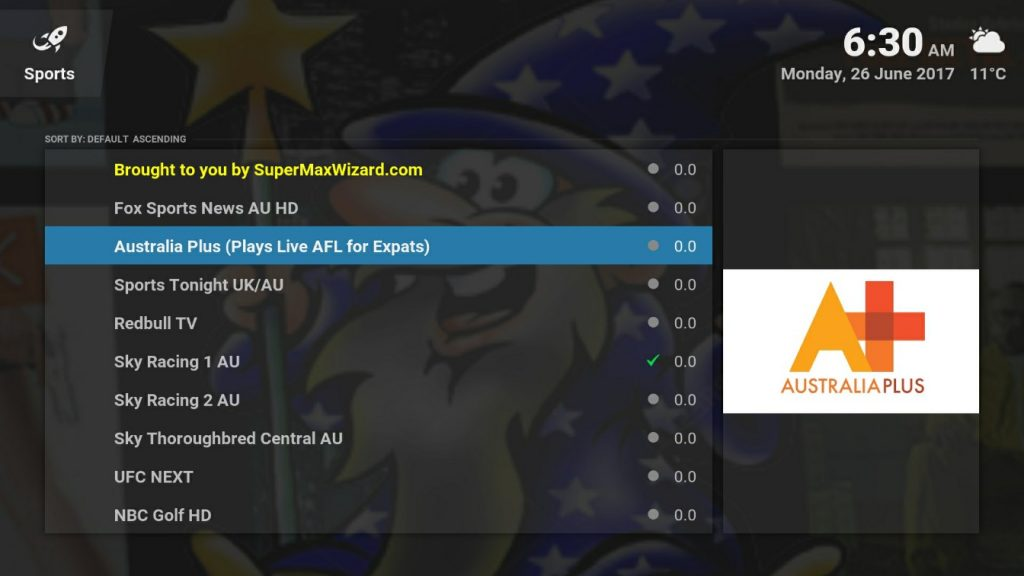 kodi sports addon australia best box review
