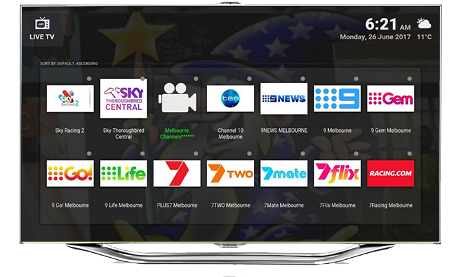 australian nz channels kodi tv box