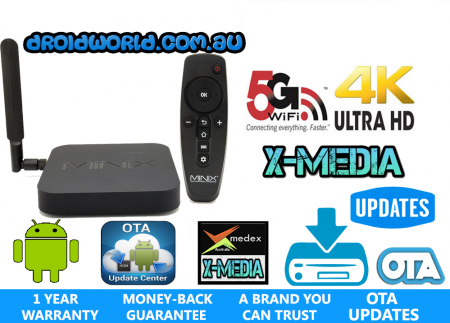MINIX NEO X8-H PLUS ANDROID TV BOX KODI BUY AUSTRALIA