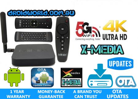 MINIX NEO X8-H PLUS bundle neo a2 lite air mouse australia kodi