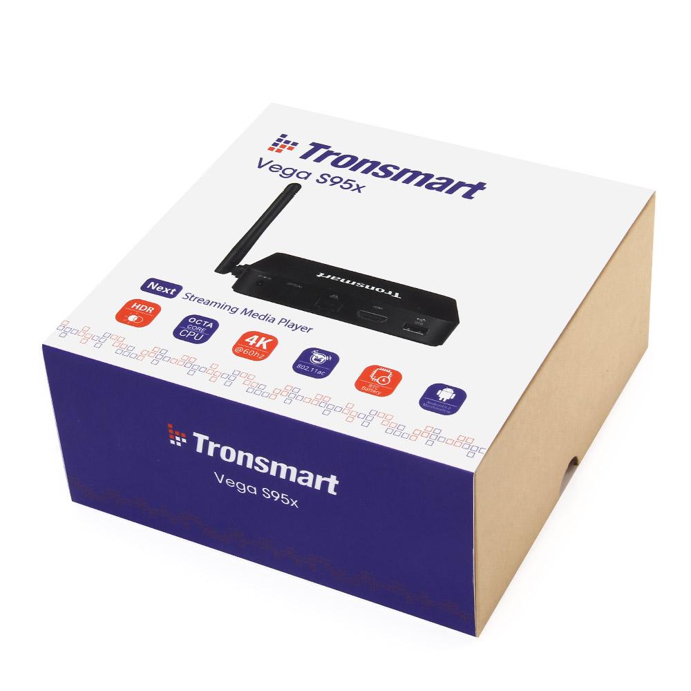 TRONSMART VEGA S95X ANDROID 6.0 KODI TV BOX S905X 2017