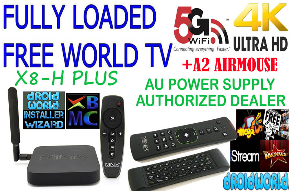 fully loaded adult minix media wifi android smart