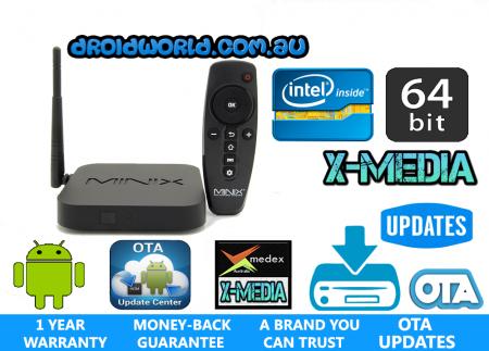 z64 android minix NEO KODI TV BOX AUSTRALIA