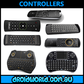 ANDROID TV BOX REMOTE CONTROLLERS