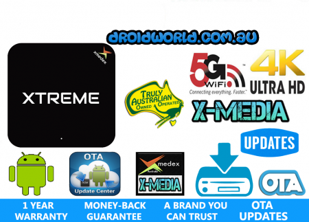 XMEDEX XTREME ANDROID TV BOX AUSTRALIA