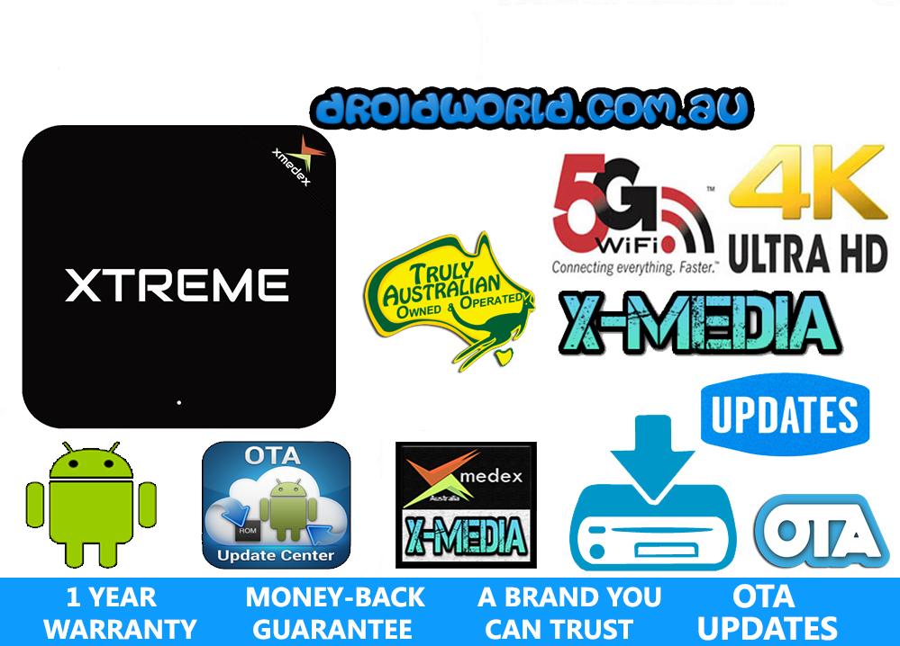 XMEDEX XTREME ANDROID TV BOX AUSTRALIA