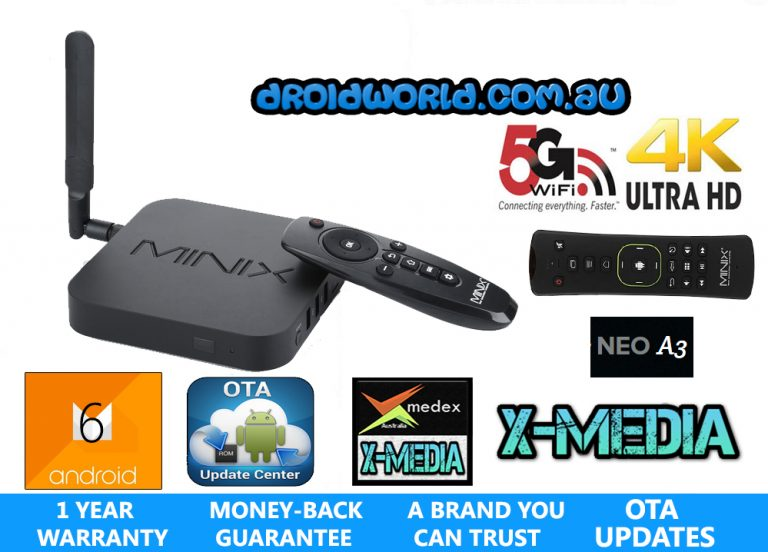 BUY MINIX NEO U9-H A3 AIR MOUSE AUSTRALIA ANDROID TV BOX REVIEW