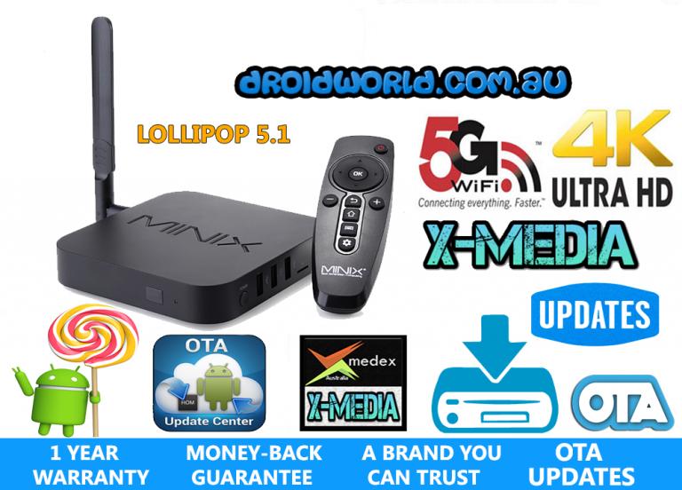 MINIX U1 S905 LOLLIPOP KODI TV BOX ANDROID AUSTRALIA