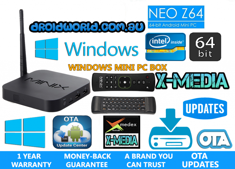 MINIX NEO Z64 WINDOWS MINI PC AUSTRALIA