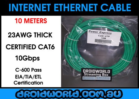 10m cat6 ethernet cable australia