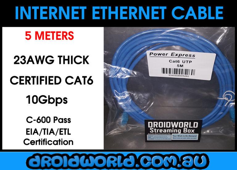 5m cat6 ethernet cable australia