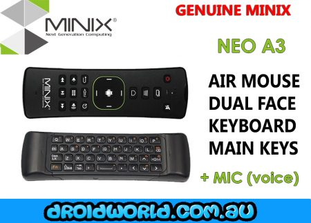 minix neo a3 air mouse mic voice control android
