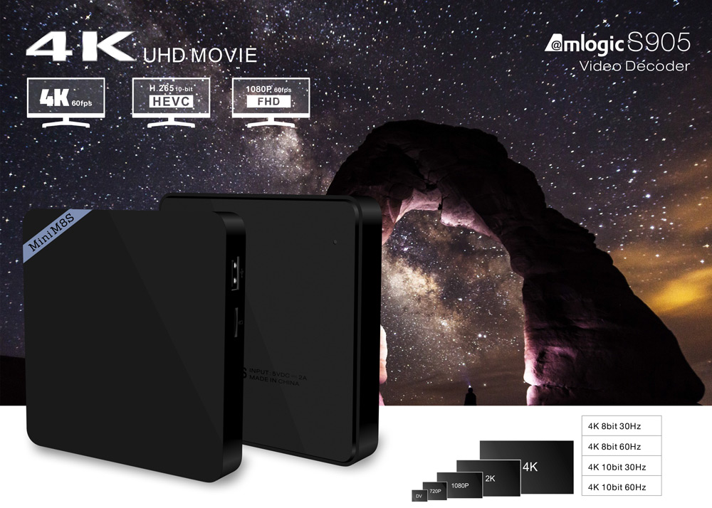 mini m8s ii android tv box cheap best s905x amlogic australia