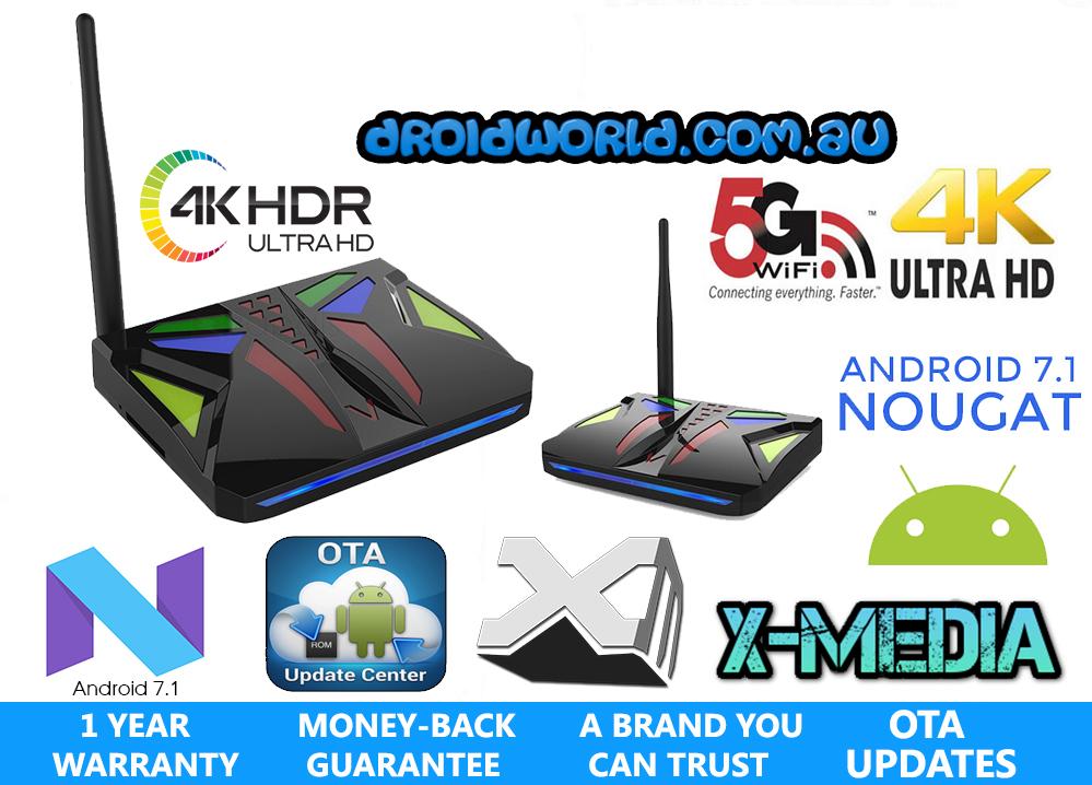 b9bc48f9393d5 DROIDWORLD ALIENBOX 4K Android 7.1.1 (AMLogic S912) 16GB 2GB ...