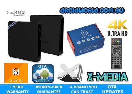mini m8s ii android tv box cheap best s905x amlogic