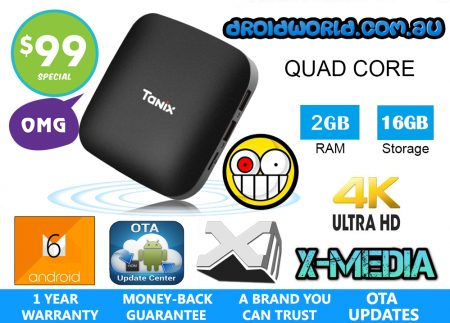 tanix tx2 android box tv australia