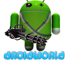 DROIDWORLD – Android Smart TV Box Retailer – Best Kodi Streaming Boxes & Media HUB's in Australia Logo