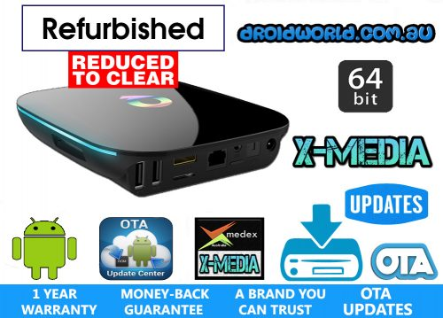 REFURBISHED QBOX S905 AMLOGIC KODI TV BOX